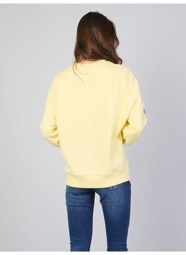 Colin's Sweatshirt Sarı